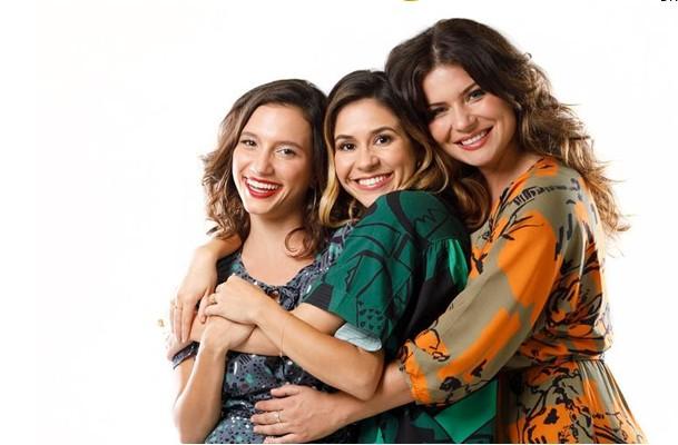 Lorena Comparato, Anita Chaves e Andrezza Abreu (Foto: Divulgação)