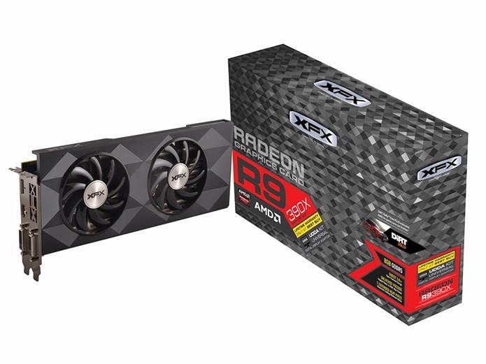 Versão Double Dissipation é uma das melhores Radeon R9 390X no Brasil (Foto: Divulgação/XFX)