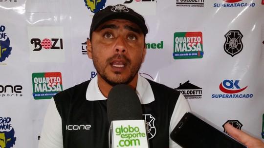 Apesar do 0 a 0, técnico aprova volta de Felipe Capixaba e atuação do Rio Branco-ES