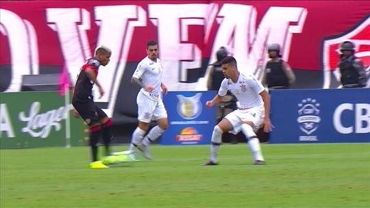 Vitória 2 x 2 Corinthians tem pintura de Jadson e emoção nos acréscimos: veja os gols