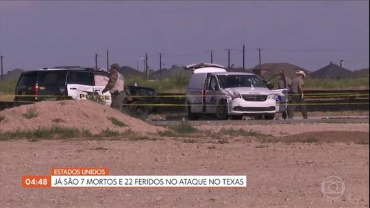 Ataque no Texas, nos EUA, deixa sete mortos e 22 feridos