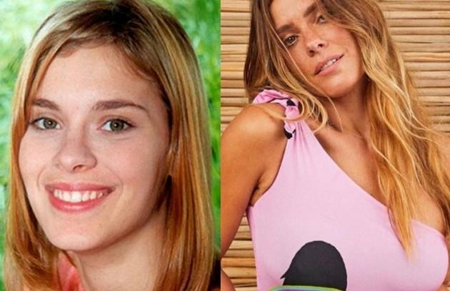 Carolina Dieckmann foi Camila, jovem diagnosticada com leucemia. Para o papel, ela precisou raspar a cabeça em cena.  Sua última novela foi 'O Sétimo Guardião' (Foto: TV Globo / Reprodução)