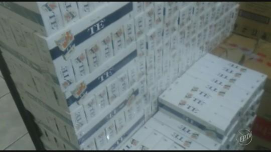 Polícia apreende 500 caixas de cigarros contrabandeados em caminhão-tanque em rodovia do interior de SP