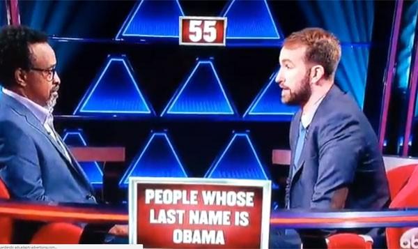 Evan Kaufman, à direita, confundiu ex-presidente Barack Obama com o terrorista Osama bin Laden (Foto: Reprodução)