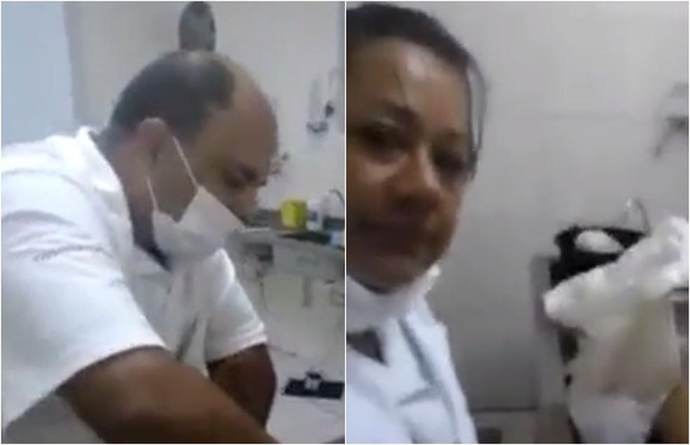 Funcionários de clínica foram demitidos e respondem por divulgação de imagens do corpo de Cristiano Araújo (Foto: Reprodução)