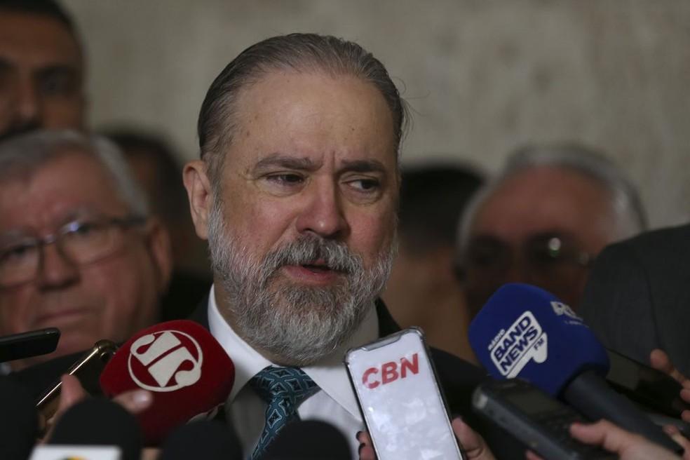 O procurador-geral da República, Augusto Aras — Foto: José Cruz / Agência Brasil