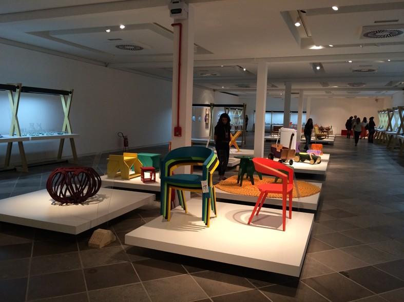 A exposição está sendo realizada no Centro Integrado de Cultura, em Florianópolis