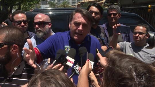'Ele vai dar as explicações', diz Bolsonaro sobre ex-assessor do filho citado em relatório do Coaf