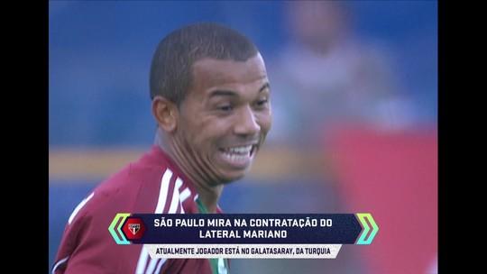 São Paulo faz consulta pelo lateral-direito Mariano, do Galatasaray