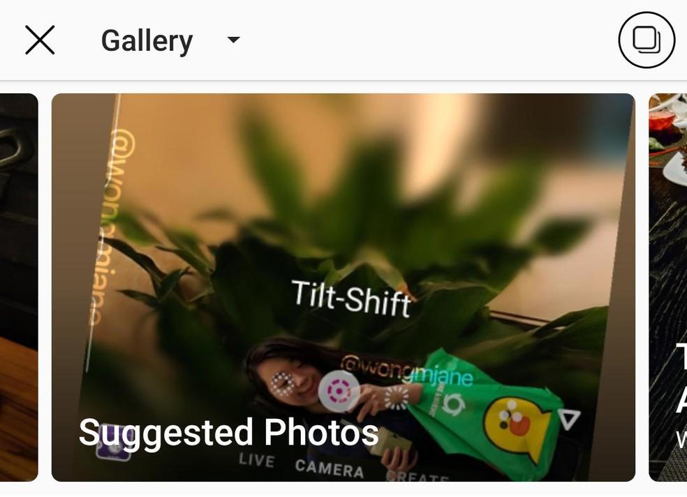 Novo recurso do Instagram usa inteligência artificial para recomendar melhores fotos — Foto: Reprodução/Jane Manchun Wong