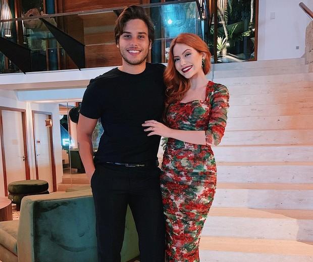 Jonathan Couto e Sarah Pôncio (Foto: Reprodução/Instagram)