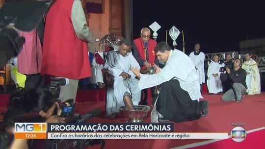 Detentos vão participar de cerimônia de Lava-pés na Grande BH; veja programação de missas