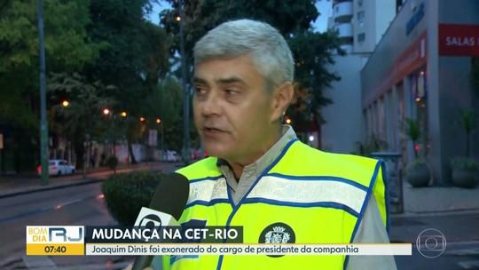 Joaquim Dinis é exonerado da Presidência da CET-Rio