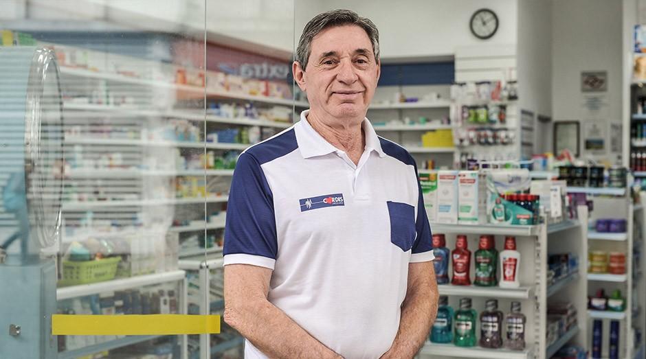 Marco Aurélio proprietário da farmácia Drogacordis (Foto: Divulgação)
