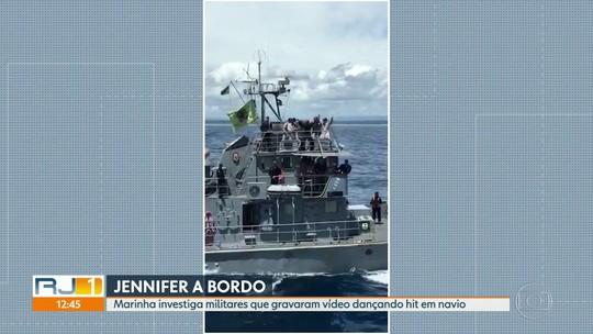 """Marinha abriu sindicância sobre militares dançando o hit """"O nome dela é Jenifer"""""""