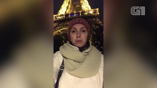 Turista do RJ relata mobilização em Paris durante incêndio na Catedral de Notre-Dame: 'não imaginava que era tão grave'