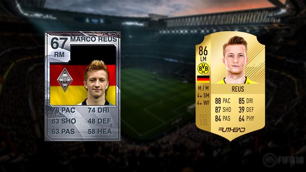 O alemão abandonou sua carta prata de Fifa 10 para brilhar no Ultimate Team (Foto: Reprodução/Murilo Molina)