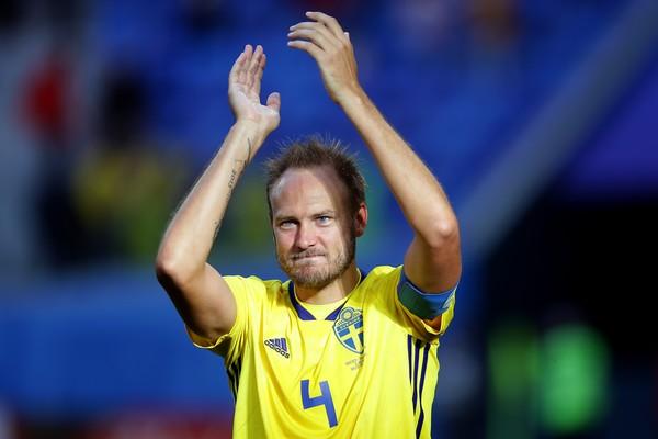 O zagueiro sueco Andreas Granqvist  (Foto: Getty Images)