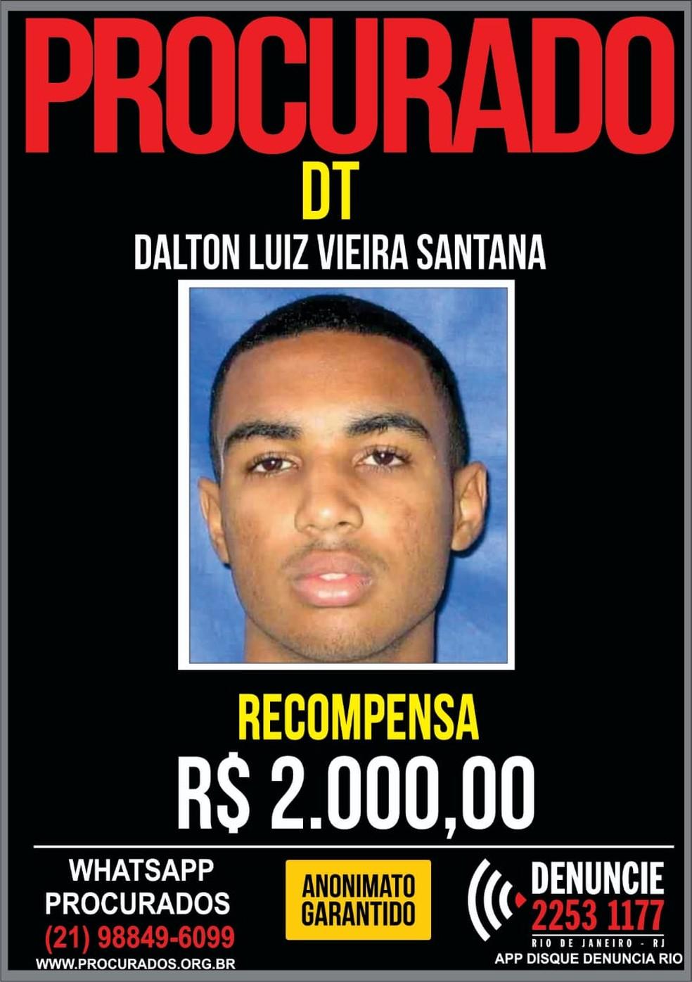 Portal dos Procurados pede informações sobre suspeito de matar jovem  — Foto: Divulgação