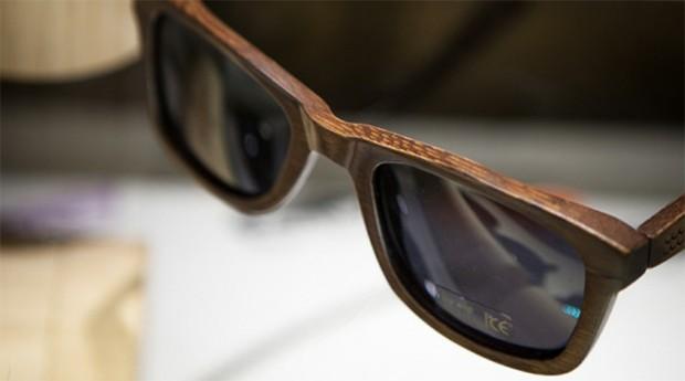 Óculos da Parafina: produto usa material reciclável (Foto: Divulgação )