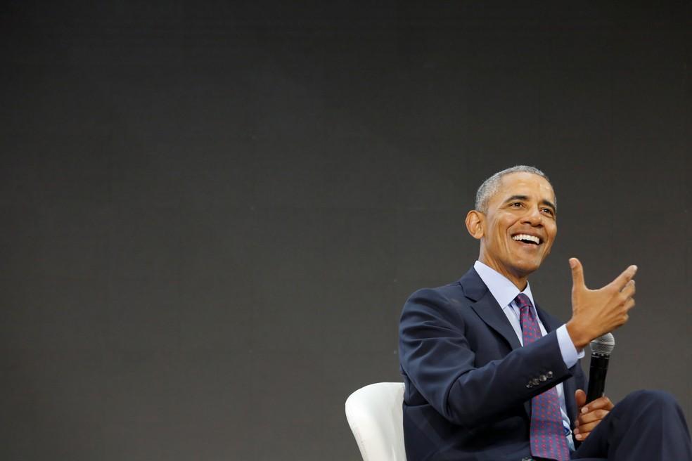 O ex-presidente dos EUA, Barack Obama  (Foto: Elizabeth Shafiroff / Reuters)