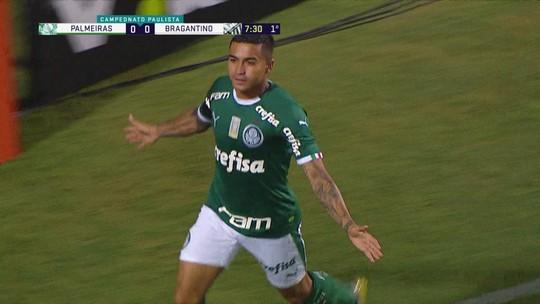 Dudu 100%: atacante sobra no início de 2019 com boa fase e liderança no Palmeiras