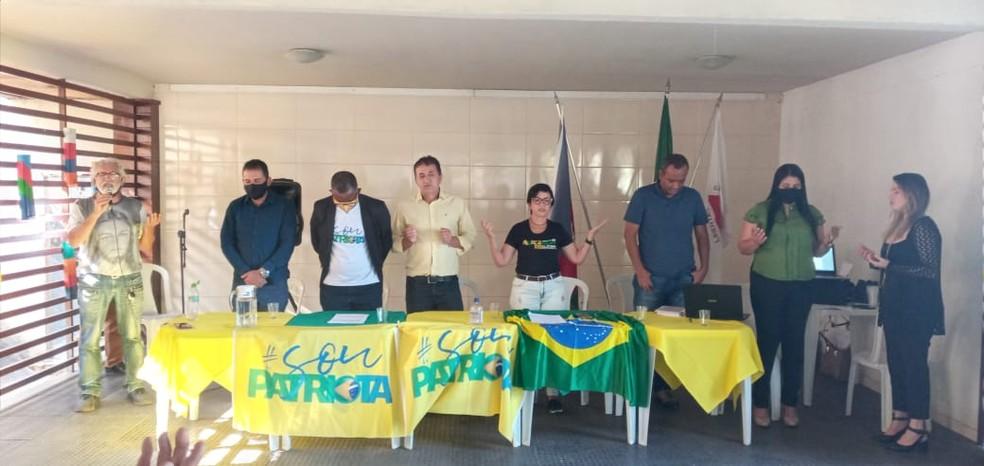Nilson Pereira é oficializado candidato do Patriota à Prefeitura de Ipatinga — Foto: Reprodução