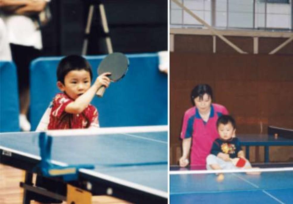 Tomokazu Harimoto é um prodígio do tênis de mesa (Foto: Reprodução/Facebook)