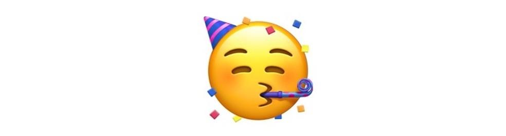 Emoji para comemorações — Foto: Reprodução/TechTudo