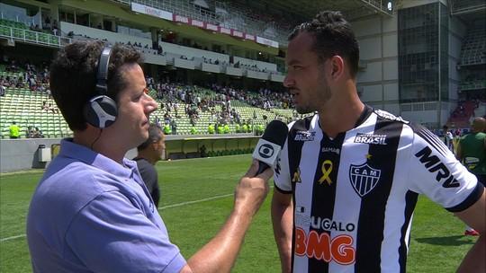 """""""O gol que tomamos fez com que a atmosfera mudasse"""", destaca Réver"""