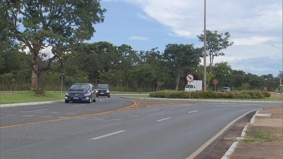 Local onde construtora planeja criar quadra 500 do Sudoeste — Foto: Reprodução/TV Globo