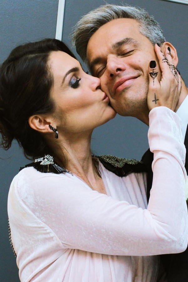 Flavia Alessandra e Otaviano Costa  (Foto: Reprodução Instagram)