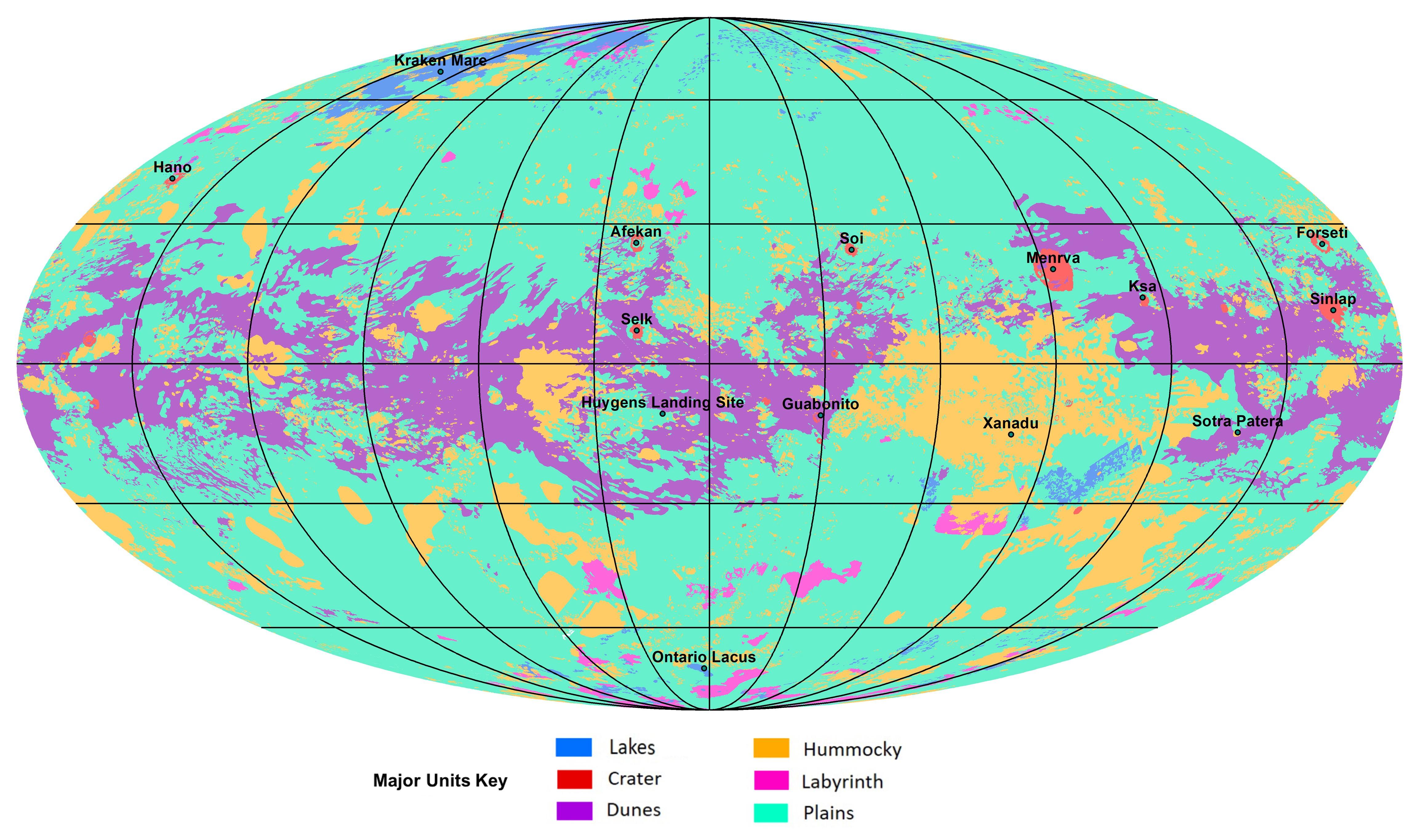 Brasileira na Nasa revela que Titã, uma lua de Saturno, tem ciclo hidrológico parecido com o da Terra