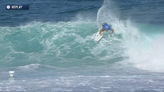 Com área de competição maior, Ian cai para repescagem, e Italo avança no Havaí