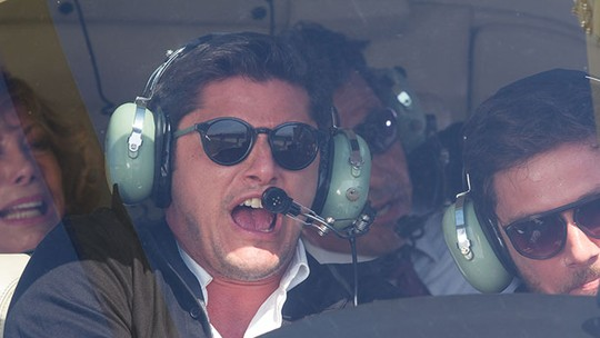 Últimos capítulos: Aderbal sofre grave acidente de helicóptero
