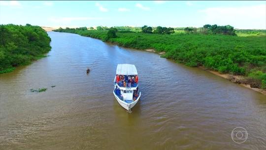 Delta do Parnaíba tem mar aberto e mais de setenta ilhas