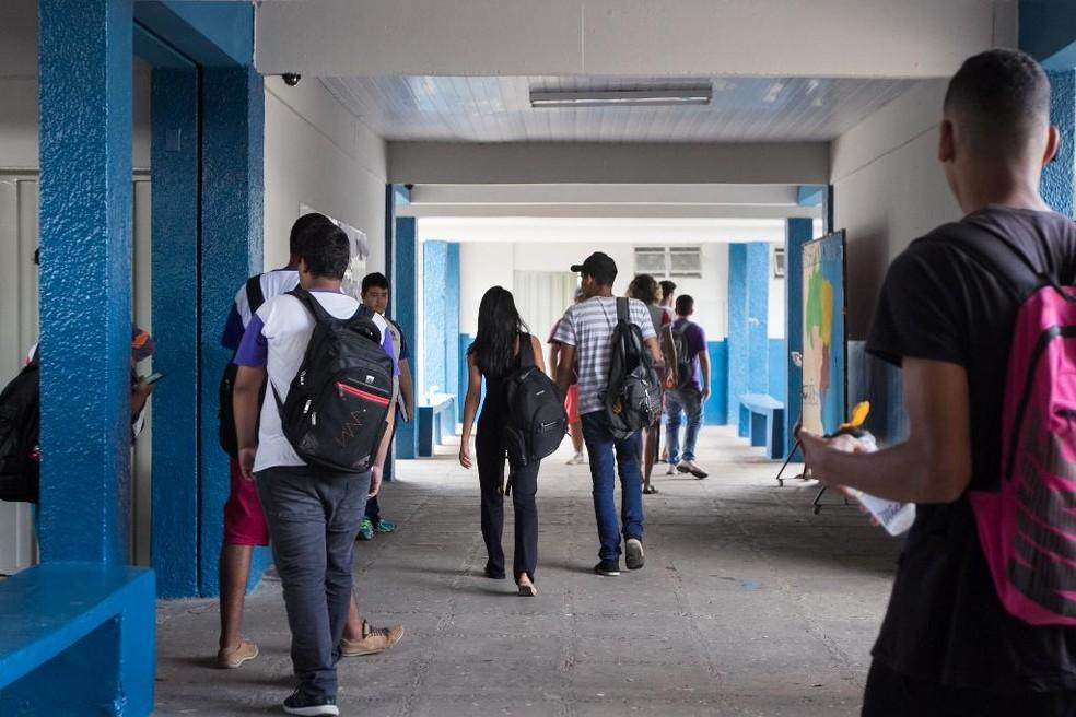 Escolas ainda tem vagas disponíveis para matrículas — Foto: Seduc/Assessoria