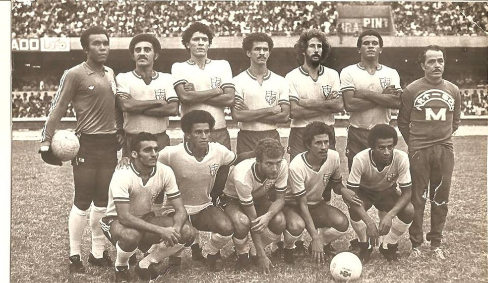 O CRB, de 1979: um dos 30 times nordestinos que disputaram o Campeonato Brasileiro daquele ano, o último organizado pela CBD (Foto: Arquivo Museu dos Esportes)