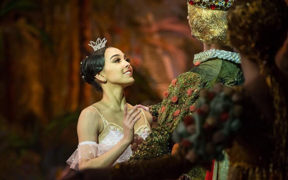 Amanda Gomes, de 22 anos, que compete por prêmio de melhor bailarina em 'Oscar' do balé (Foto: Ramis Nasmiev/Divulgação)