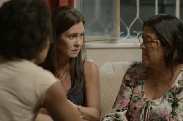 Cena de 'Amor de mãe' (Foto: TV Globo)