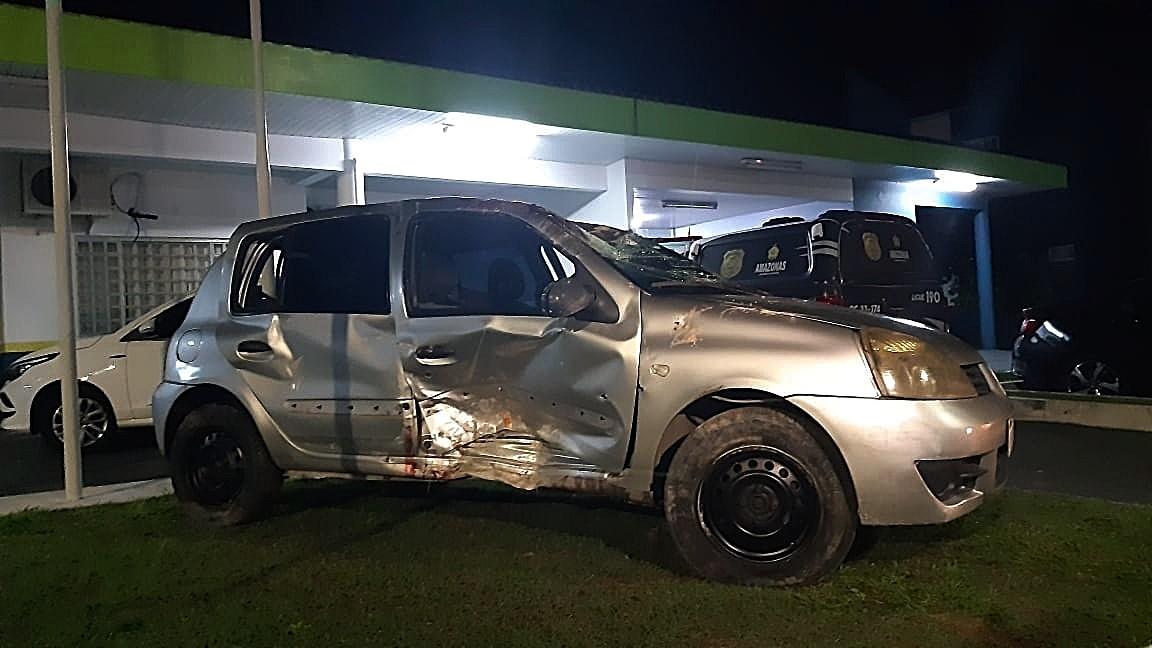 Cinco morrem durante perseguição policial e tiroteio em Manaus