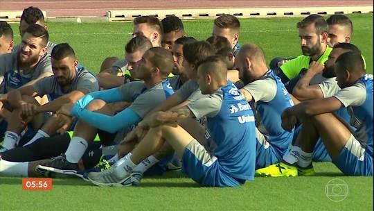 Grêmio prepara a estratégia para enfrentar o Real Madrid