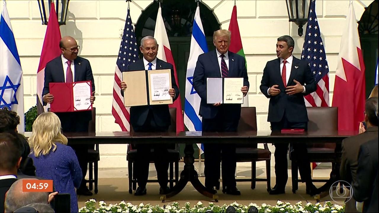 Guga Chacra comenta acordo histórico e passo importante para a paz no Oriente Médio