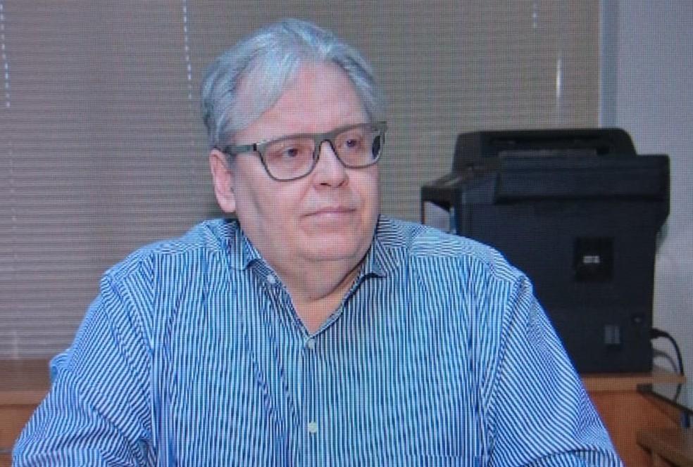 Luiz Antônio Possas de Carvalho, secretário de Saúde de Cuiabá — Foto: Reprodução/TVCA