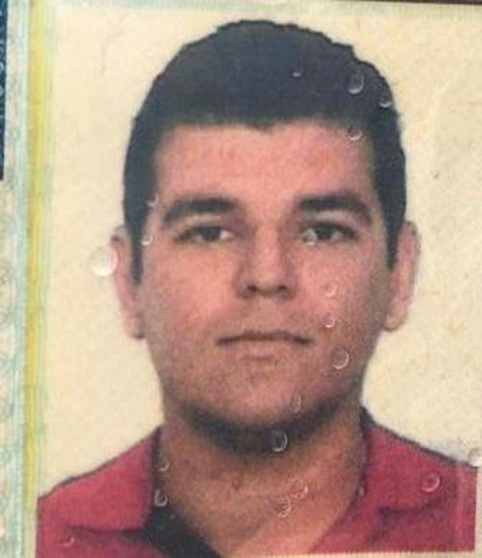 O motorista de aplicativo Túlio Russel César foi encontrado morto — Foto: Reprodução