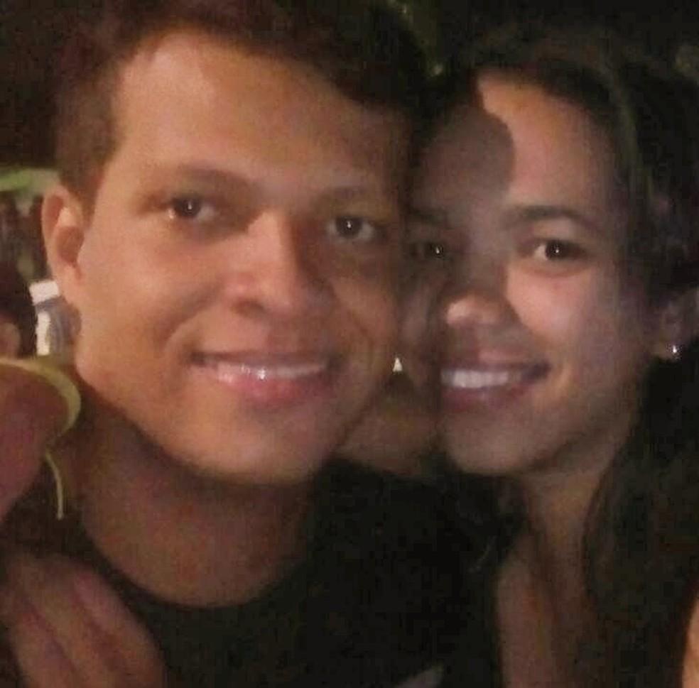 Casal vive há dois anos com idas e vindas para manter relacionamento — Foto: Arquivo pessoal