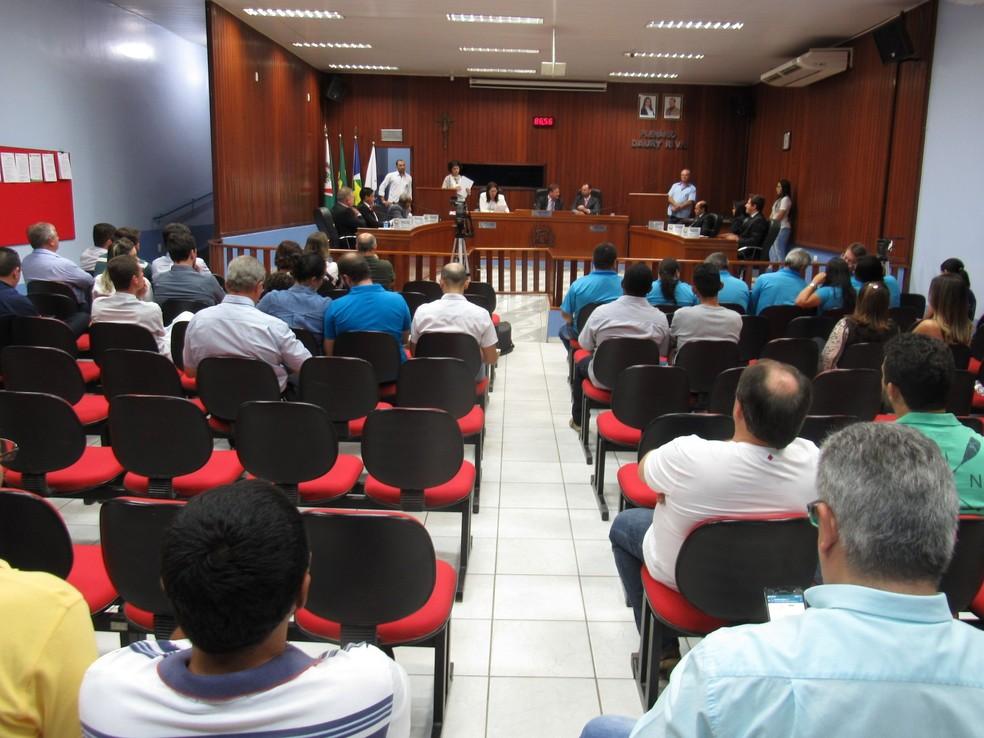 Sessaão deve ser realizada na Câmara de Juara (Foto: Câmara de Juara/Divulgação)