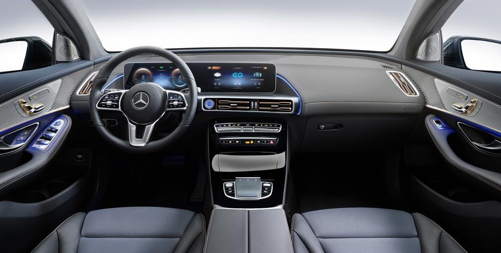 Mercedes-Benz EQC (Foto: Divulgação)