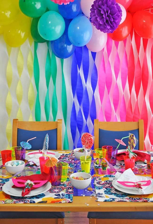 Na decoração, alegria não pode faltar (Foto: Anny Meisler)