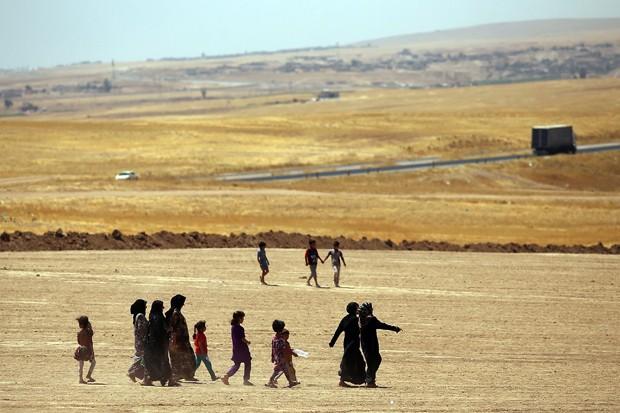 Mulheres do Estado Islâmico pedem redenção (Foto: Getty Images)